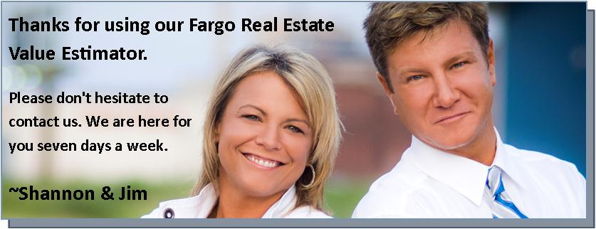 fargo real estate, home value estimator, market analysis, selling homes,