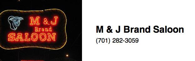 M & J Brand Saloon